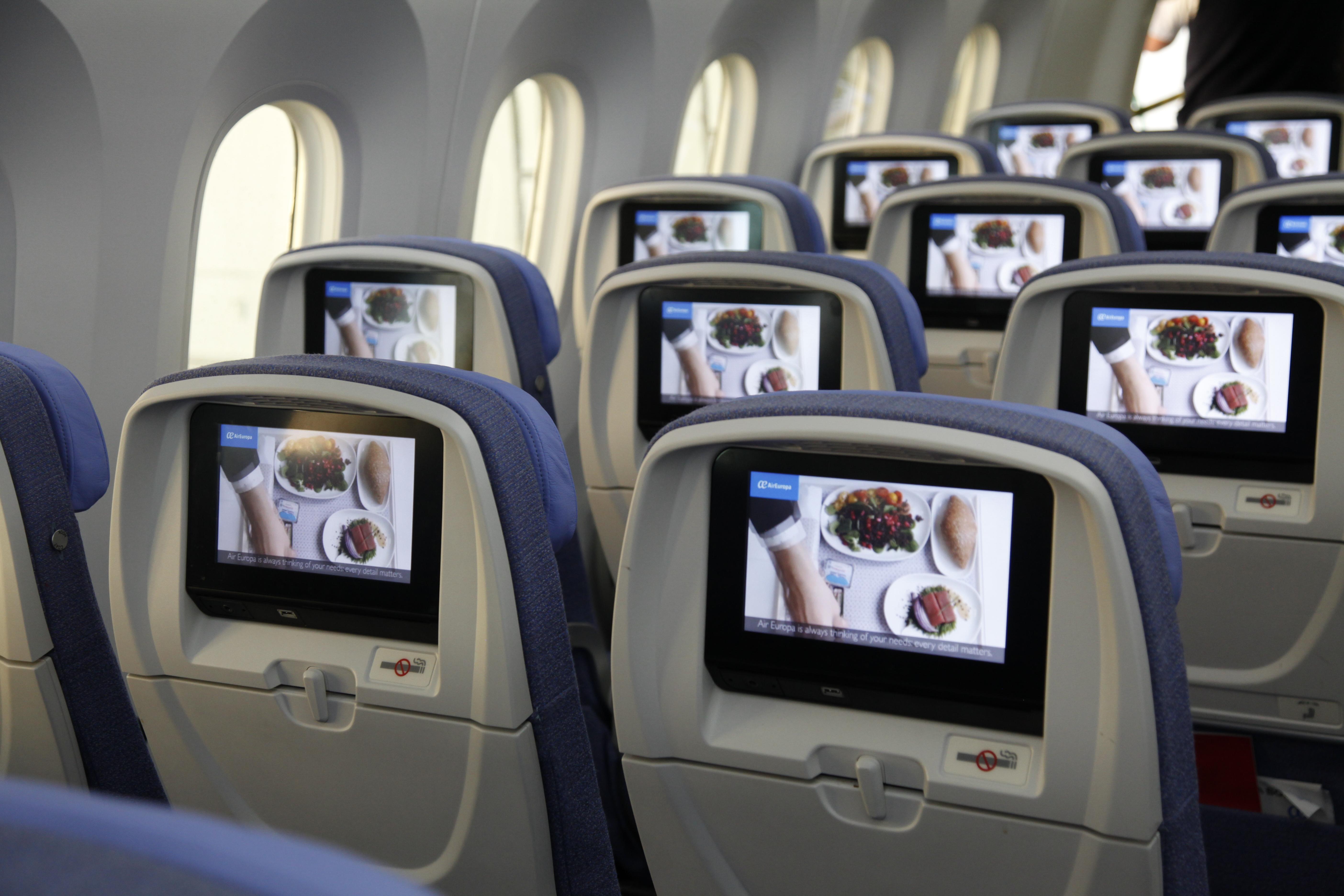 Classe économique Dreamliner